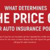 Price of Auto Insurance